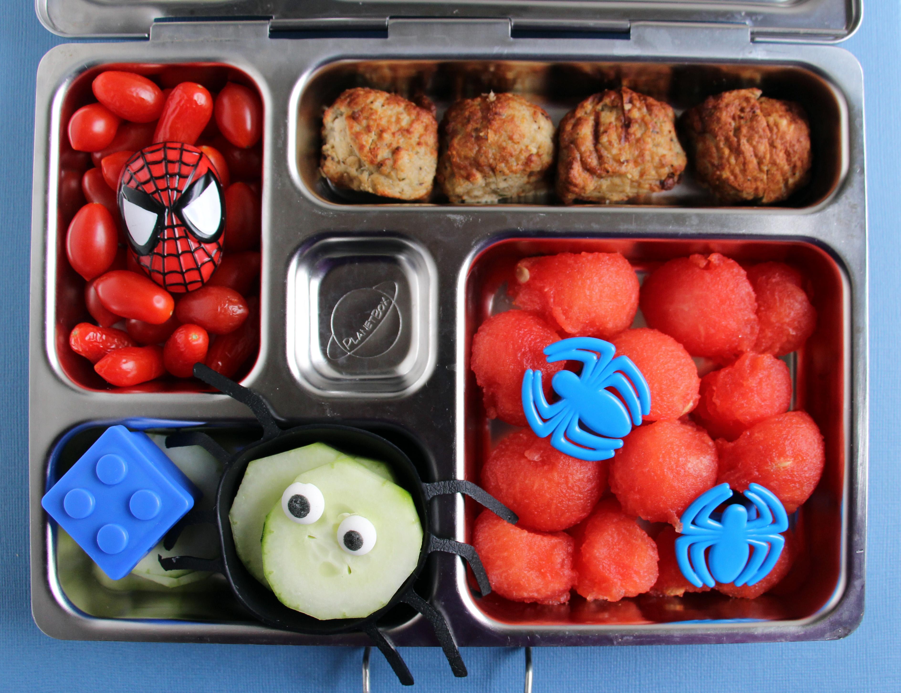 & Preschooler Spiderman Planetbox Lunch Aboutintivar.Com