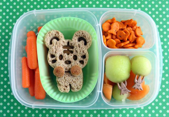 Preschooler Tiger bento box