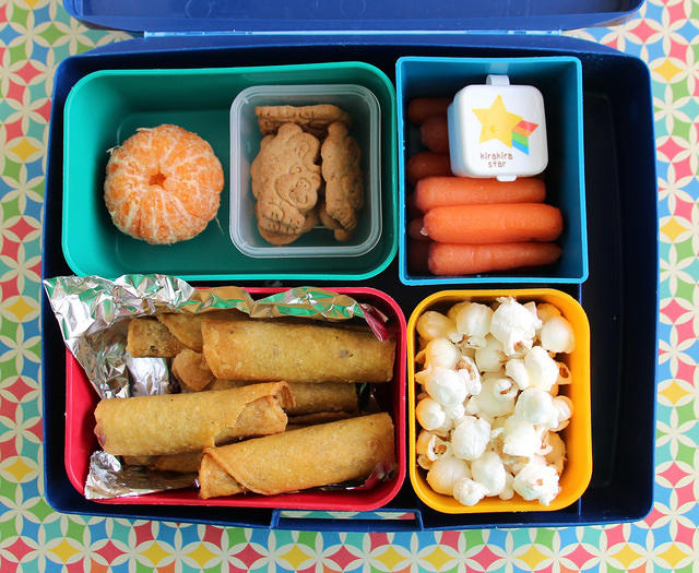 Taquitos Laptop Lunches Bento