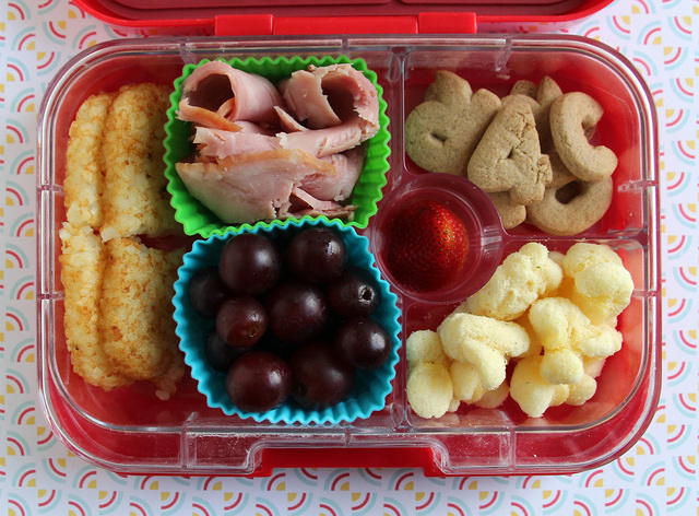 Ham and Hash Browns Yumbox Lunch #1