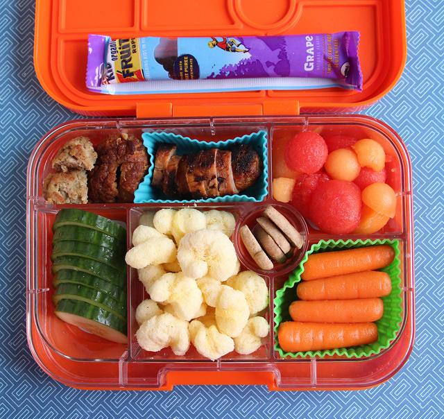 New Orange Yumbox Lunch