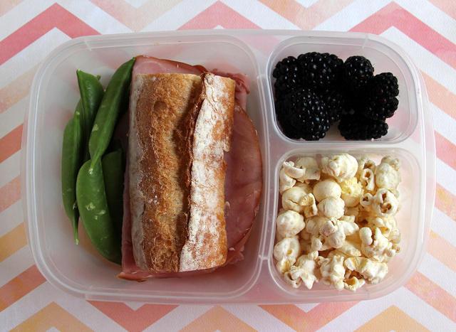 Baguette Sandwich Lunch