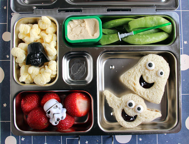Goofy Star Wars Bento in the PlanetBox Rover