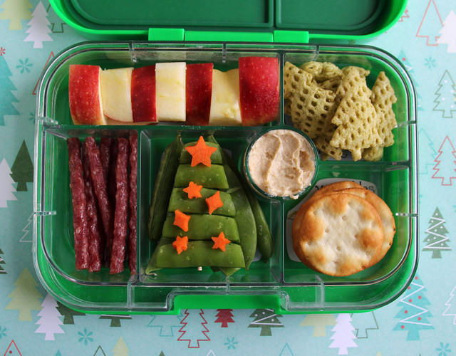 Christmas Tree Bento Box