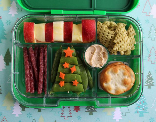 Christmas Tree Bento Box