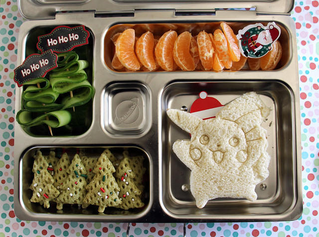 A Very Pokemon Christmas Bento