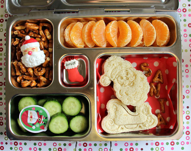 Super Santa Christmas Bento Box