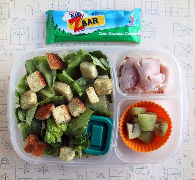 Caesar Salad bento lunch