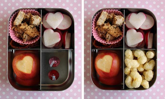 Valentine's Day Lunch with Hidden Treat