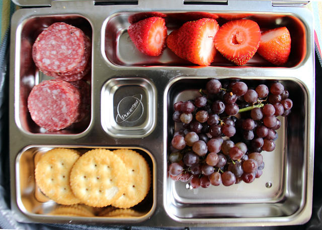 Kid-packed Snacky PlanetBox