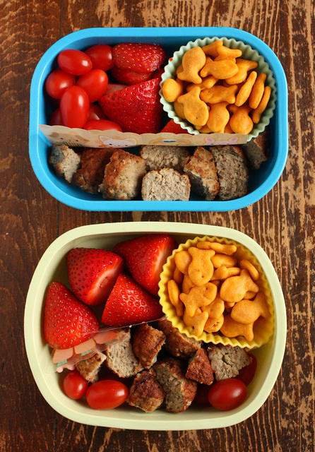Nearly Identical Preschool and Big Kid Lunches