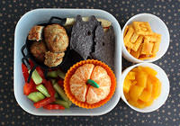 Preschool Halloween Bento in the Yubo