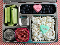 Almost Valentine's Day Planetbox Lunch